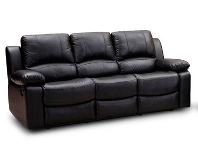 Leather couch after cleaning in Perth